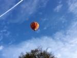 Ongeëvenaarde ballon vlucht boven de regio Veghel op dinsdag 16 oktober 2018