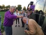 Unieke heteluchtballonvaart gestart in Veghel op dinsdag 16 oktober 2018
