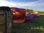 Voortreffelijke ballonvlucht opgestegen op startveld Veghel op dinsdag 16 oktober 2018