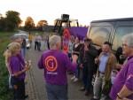 Jaloersmakende ballonvaart gestart op opstijglocatie Veghel op dinsdag 16 oktober 2018