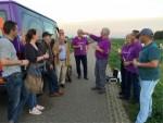 Onovertroffen heteluchtballonvaart over de regio Veghel op dinsdag 16 oktober 2018