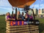 Fascinerende luchtballon vaart vanaf startlocatie Veghel op dinsdag 16 oktober 2018