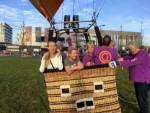 Schitterende luchtballonvaart startlocatie Veghel op dinsdag 16 oktober 2018