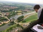 Majestueuze ballon vaart boven de regio Arnhem dinsdag 19 juni 2018
