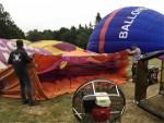 Te gekke luchtballon vaart omgeving Eindhoven dinsdag 19 juni 2018