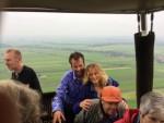 Schitterende ballonvlucht startlocatie Hendrik-ido-ambacht dinsdag 19 juni 2018