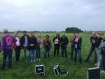 Hoogstaande ballon vlucht vanaf startlocatie Hendrik-ido-ambacht dinsdag 19 juni 2018