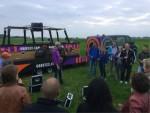 Relaxte ballonvaart in de omgeving van Hendrik-ido-ambacht dinsdag 19 juni 2018