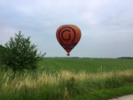 Schitterende ballonvlucht opgestegen op opstijglocatie 's-hertogenbosch dinsdag 19 juni 2018