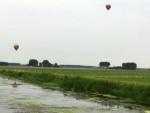 Uitzonderlijke ballon vaart startlocatie 's-hertogenbosch dinsdag 19 juni 2018