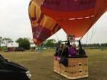 Ultieme heteluchtballonvaart gestart in 's-hertogenbosch dinsdag 19 juni 2018