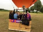 Comfortabele luchtballonvaart over de regio 's-hertogenbosch dinsdag 19 juni 2018