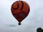 Waanzinnige heteluchtballonvaart opgestegen op startveld 's-hertogenbosch dinsdag 19 juni 2018