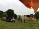 Schitterende ballonvaart vanaf startveld Venray dinsdag 19 juni 2018