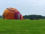 Overweldigende heteluchtballonvaart opgestegen op opstijglocatie Venray dinsdag 19 juni 2018
