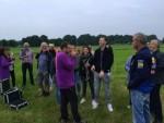Te gekke ballonvlucht startlocatie Venray dinsdag 19 juni 2018