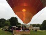 Ultieme ballon vlucht opgestegen op startlocatie Venray dinsdag 19 juni 2018