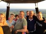 Formidabele heteluchtballonvaart startlocatie Almelo op dinsdag 21 augustus 2018