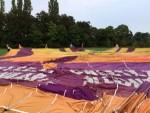 Grandioze luchtballon vaart vanaf startveld Beesd op dinsdag 21 augustus 2018