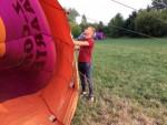 Heerlijke ballonvlucht in de omgeving van Beesd op dinsdag 21 augustus 2018