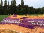 Waanzinnige luchtballonvaart in de buurt van Beesd op dinsdag 21 augustus 2018
