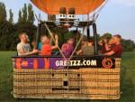 Feestelijke luchtballonvaart over de regio Beesd op dinsdag 21 augustus 2018