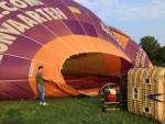 Relaxte ballon vaart opgestegen op opstijglocatie Beesd op dinsdag 21 augustus 2018