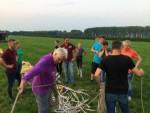 Ongekende ballonvaart gestart op opstijglocatie Beesd op dinsdag 21 augustus 2018