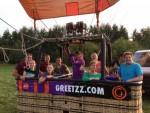 Te gekke ballonvlucht gestart in Beesd op dinsdag 21 augustus 2018