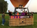 Plezierige ballonvlucht gestart in Beesd op dinsdag 21 augustus 2018
