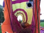 Voortreffelijke ballon vlucht gestart op opstijglocatie Beesd op dinsdag 21 augustus 2018