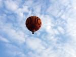 Ongelofelijke mooie ballonvlucht boven de regio Beesd op dinsdag 21 augustus 2018