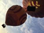 Sublieme ballon vlucht opgestegen op opstijglocatie Beesd op dinsdag 21 augustus 2018