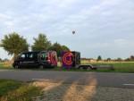 Super ballon vlucht in de buurt van Doetinchem op dinsdag 21 augustus 2018