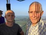 Magische ballonvaart vanaf startlocatie Joure op dinsdag 21 augustus 2018