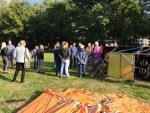 Geweldige heteluchtballonvaart omgeving Oss op dinsdag 25 september 2018