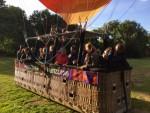 Spectaculaire ballon vlucht gestart in Oss op dinsdag 25 september 2018