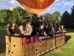 Fantastische ballon vlucht in de omgeving van Oss op dinsdag 25 september 2018