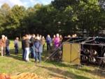 Fenomenale ballon vlucht in de regio Oss op dinsdag 25 september 2018