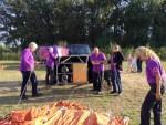 Fascinerende luchtballon vaart in de omgeving Tilburg op dinsdag 25 september 2018