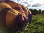 Fabuleuze ballon vaart in de omgeving van Tilburg op dinsdag 25 september 2018
