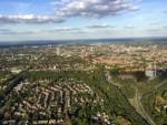 Formidabele luchtballonvaart opgestegen op startveld Tilburg op dinsdag 25 september 2018