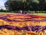 Formidabele ballonvaart startlocatie Tilburg op dinsdag 25 september 2018