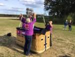 Geweldige ballonvlucht over de regio Tilburg op dinsdag 25 september 2018