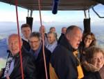 Mooie ballon vlucht startlocatie Zwolle op dinsdag 25 september 2018