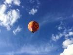 Comfortabele luchtballonvaart omgeving Zwolle op dinsdag 25 september 2018