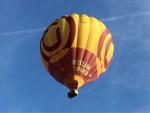 Spectaculaire ballon vlucht in de regio Deurne dinsdag 26 juni 2018