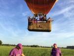 Fascinerende heteluchtballonvaart gestart in Deurne dinsdag 26 juni 2018