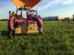 Perfecte luchtballonvaart gestart op opstijglocatie Deurne dinsdag 26 juni 2018
