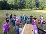 Voortreffelijke luchtballon vaart in de omgeving van Eindhoven dinsdag 26 juni 2018